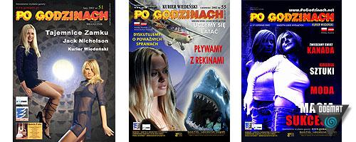 Magazyn Po Godzinach - ponad 50 wydań miesięcznika kulturalno publicystycznego ukazującego się również z suplementem CD